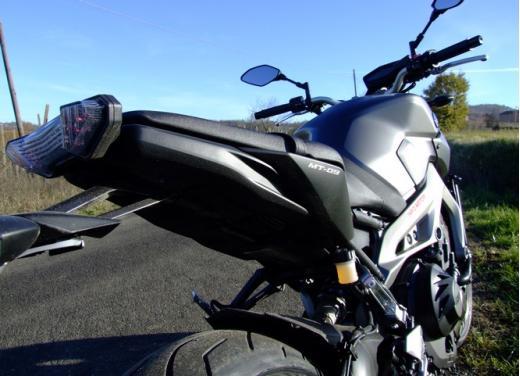 Yamaha MT-09 prova su strada - Foto 49 di 52