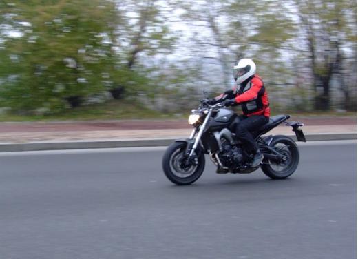 Yamaha MT-09 prova su strada - Foto 4 di 52
