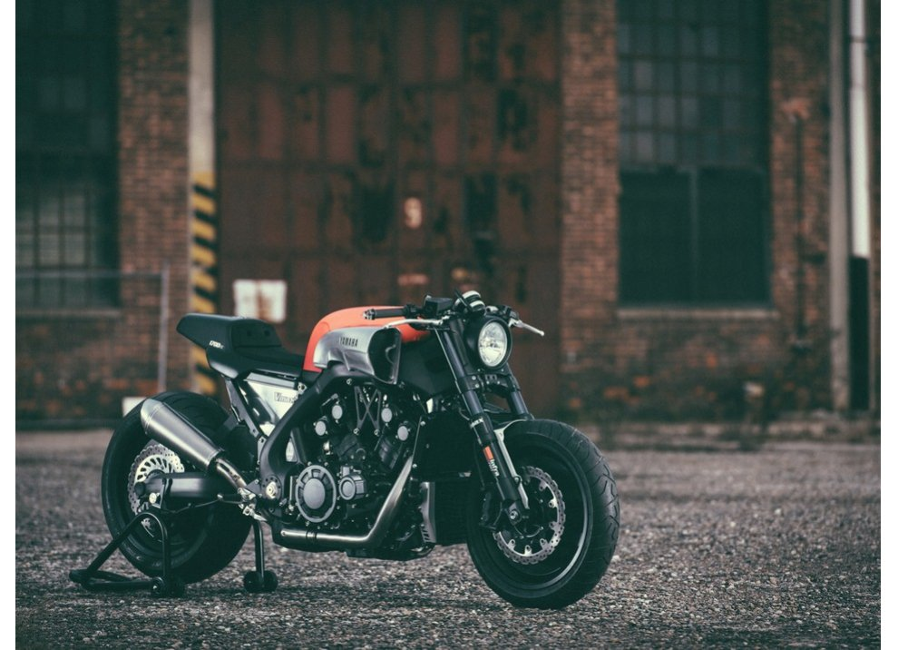 Yamaha V-Max Infrared Yard Buildt by JVB Moto