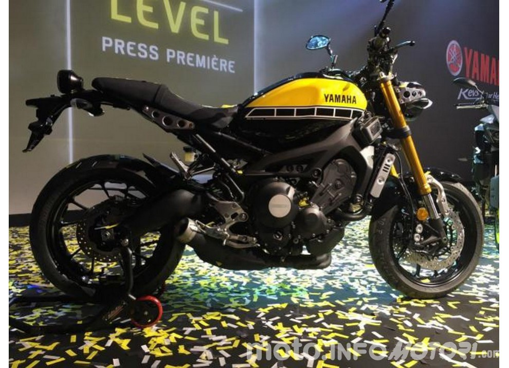 Yamaha XSR 900 live dall'EICMA 2015