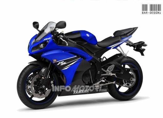 Yamaha R6 2011 rinviata - Foto  di