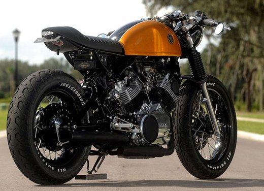 Yamaha XV 750 Café Racer - Foto 5 di 15