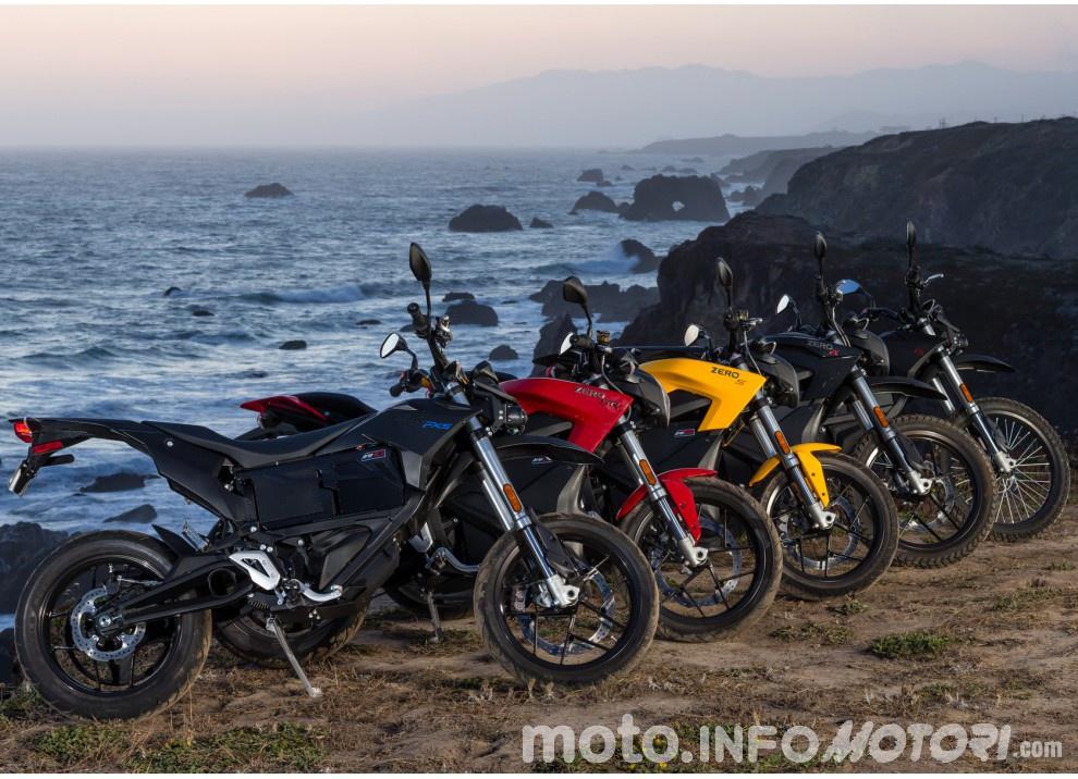 Zero Motorcycles, gamma 2016: le elettriche migliorano in prezzo ed autonomia