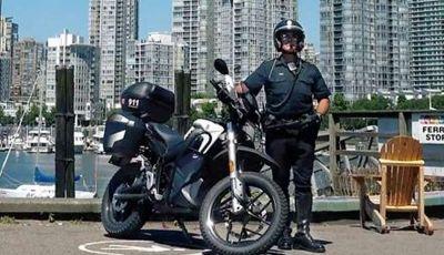 Zero Motorcyles per la polizia di Vancouver