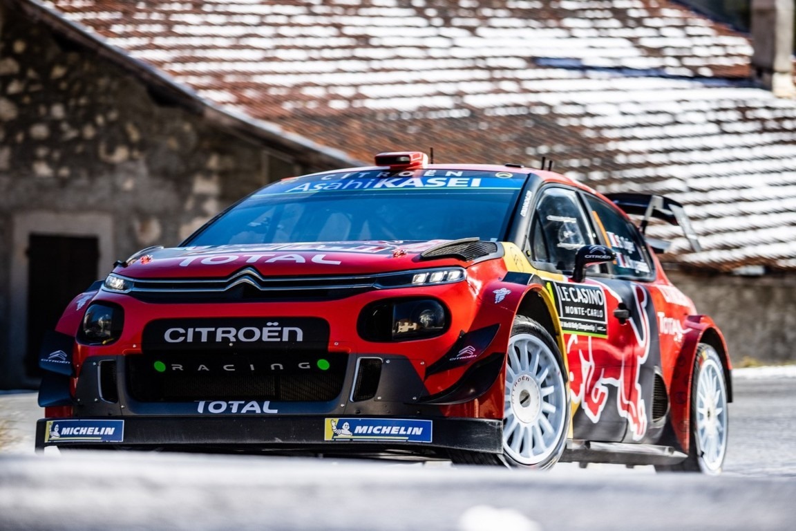 WRC Citroën ibrida World Rally Team Sébastien Ogier 2019