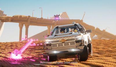 Chevrolet Silverado 2019, la pubblicità LEGO con Emmet e Lucy