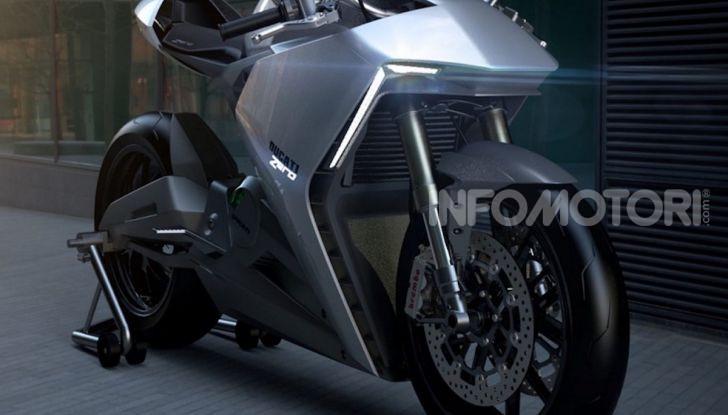 Ducati Zero: la moto elettrica arriva da Borgo Panigale - Foto 23 di 23