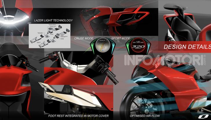 Ducati Zero: la moto elettrica arriva da Borgo Panigale - Foto 21 di 23