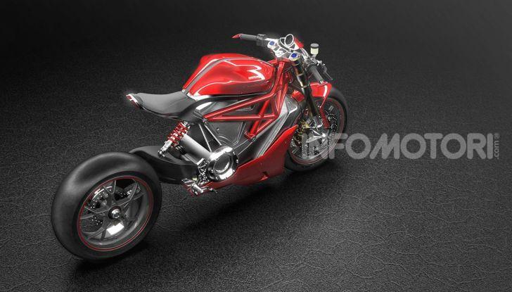 Ducati Zero: la moto elettrica arriva da Borgo Panigale - Foto 6 di 23