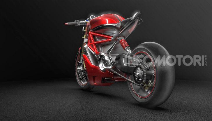 Ducati Zero: la moto elettrica arriva da Borgo Panigale - Foto 5 di 23