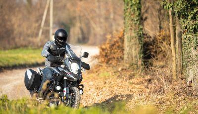 Prova Suzuki V-Strom 1000 XT ABS: maxienduro ad alta tecnologia