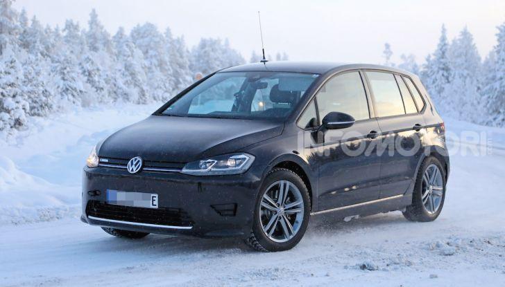 Volkswagen Golf Sportsvan 2020 elettrica, informazioni e dettagli - Foto 1 di 11