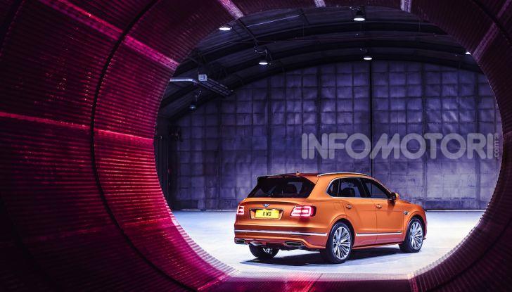 Bentley Bentayga Speed: il SUV più veloce al mondo - Foto 1 di 25