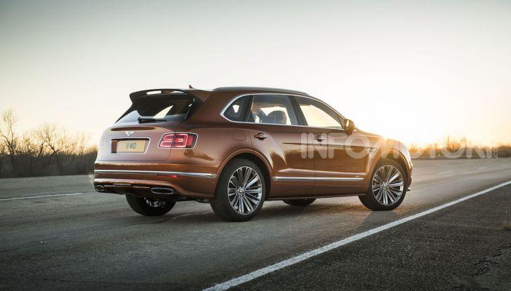 Bentley Bentayga Speed: il SUV più veloce al mondo - Foto 6 di 25
