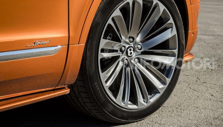 Bentley Bentayga Speed: il SUV più veloce al mondo - Foto 9 di 25
