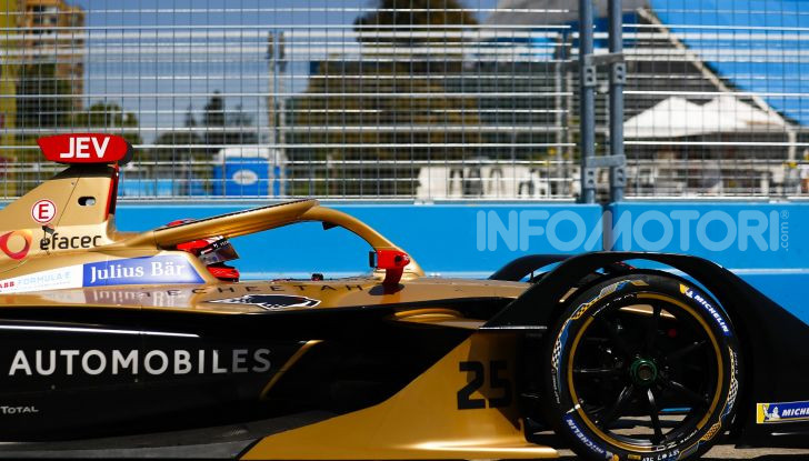 Formula E: DS Techeetah guarda ai punti messicani - Foto  di