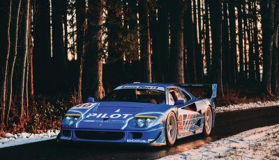 Ferrari F40 LM: icona delle 24 Ore di Le Mans all'asta