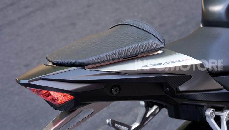 Prova Honda CBR500R e CB500F 2019: caratteristiche, opinioni e prezzi - Foto 12 di 123