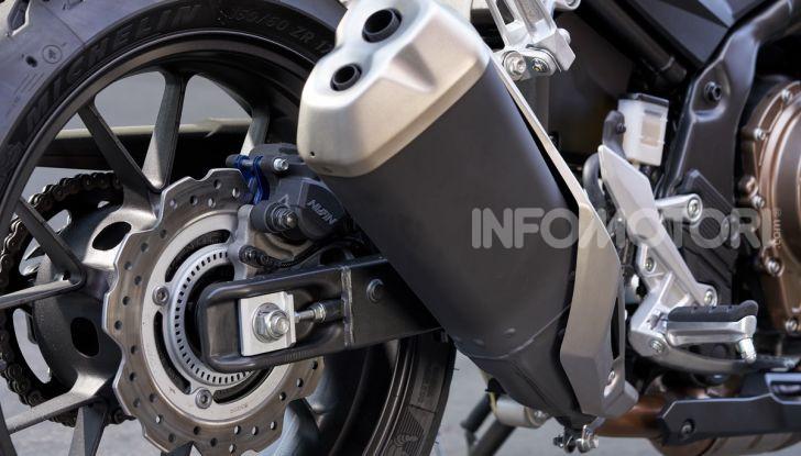 Prova Honda CBR500R e CB500F 2019: caratteristiche, opinioni e prezzi - Foto 19 di 123