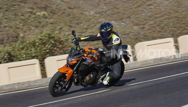Prova Honda CBR500R e CB500F 2019: caratteristiche, opinioni e prezzi - Foto 90 di 123