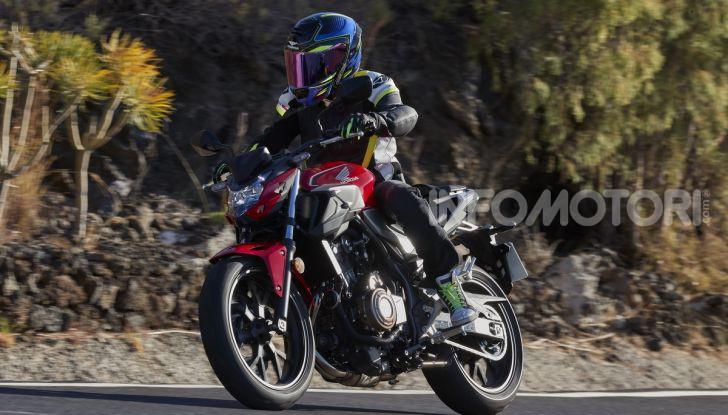 Prova Honda CBR500R e CB500F 2019: caratteristiche, opinioni e prezzi - Foto 93 di 123
