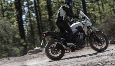 Prova Honda CB500X 2019: 19″ all'anteriore, caratteristiche, prezzo e impressioni