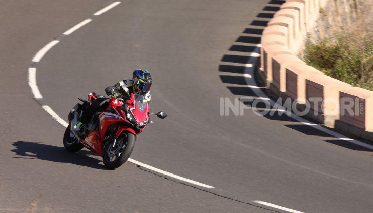 Prova Honda CBR500R e CB500F 2019: caratteristiche, opinioni e prezzi - Foto 33 di 123
