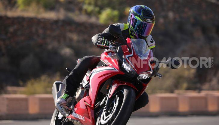 Prova Honda CBR500R e CB500F 2019: caratteristiche, opinioni e prezzi - Foto 37 di 123