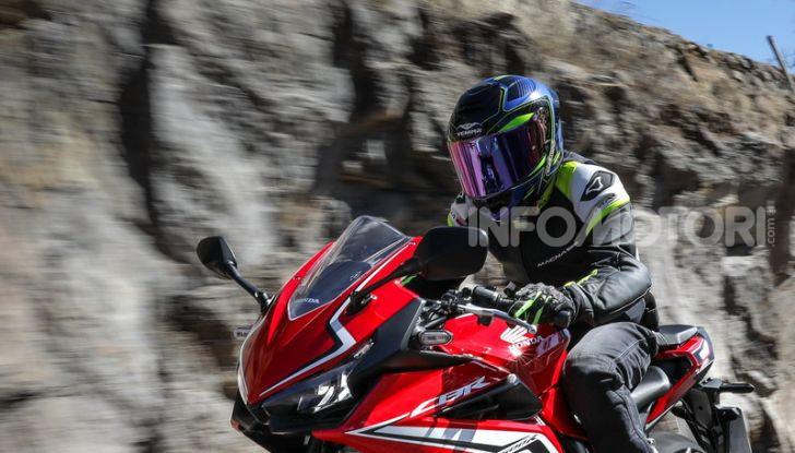 Prova Honda CBR500R e CB500F 2019: caratteristiche, opinioni e prezzi - Foto 112 di 123