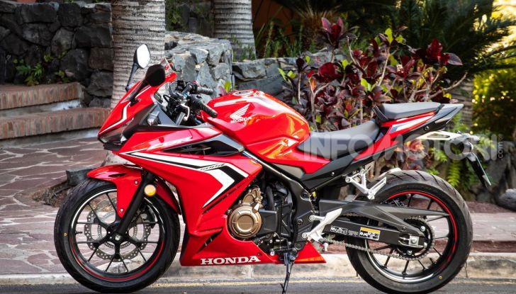 Prova Honda CBR500R e CB500F 2019: caratteristiche, opinioni e prezzi - Foto 42 di 123