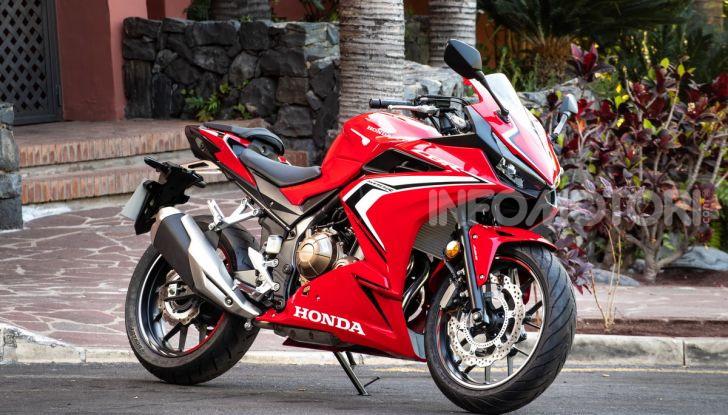 Prova Honda CBR500R e CB500F 2019: caratteristiche, opinioni e prezzi - Foto 44 di 123