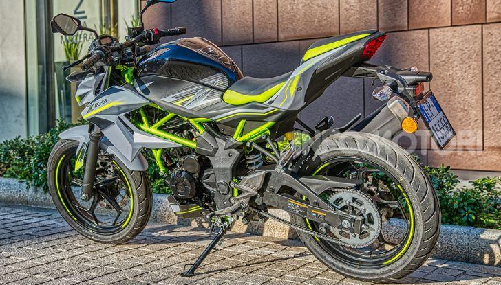 Kawasaki Z125 MY 2019: caratteristiche, opinioni e prezzo - Foto 43 di 43