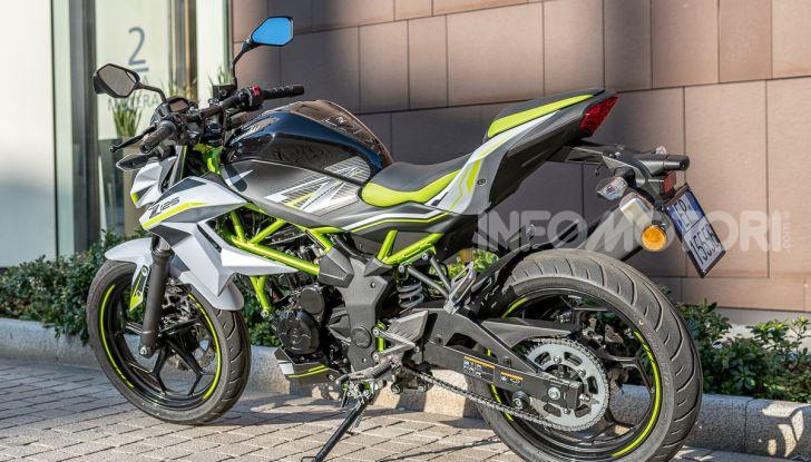 Kawasaki Z125 MY 2019: caratteristiche, opinioni e prezzo - Foto 3 di 43