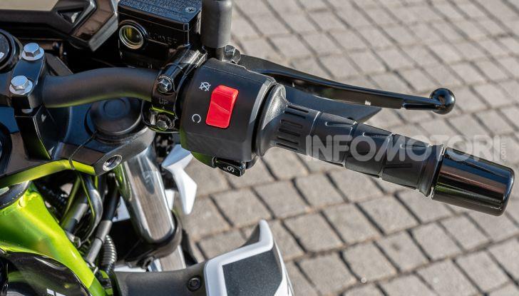 Kawasaki Z125 MY 2019: caratteristiche, opinioni e prezzo - Foto 18 di 43