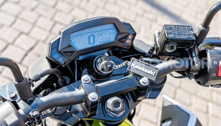 Kawasaki Z125 MY 2019: caratteristiche, opinioni e prezzo - Foto 20 di 43