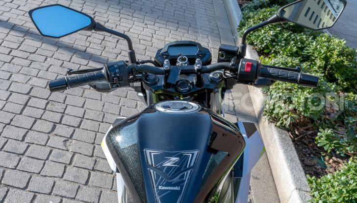 Kawasaki Z125 MY 2019: caratteristiche, opinioni e prezzo - Foto 25 di 43