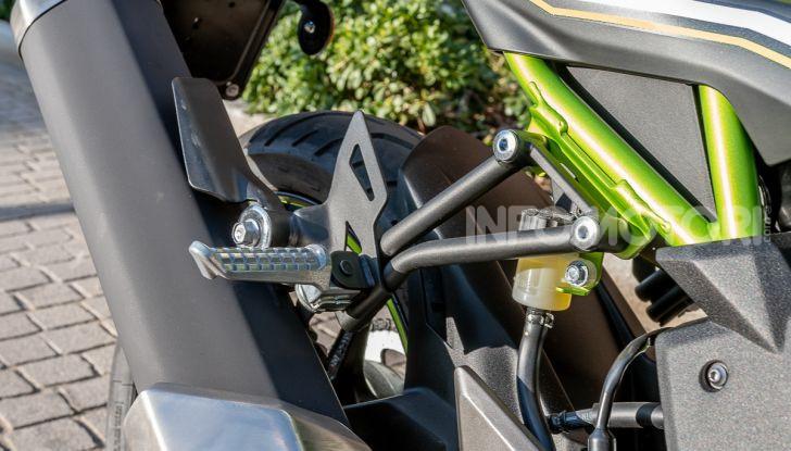 Kawasaki Z125 MY 2019: caratteristiche, opinioni e prezzo - Foto 29 di 43