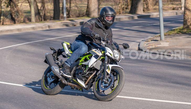 Kawasaki Z125 MY 2019: caratteristiche, opinioni e prezzo - Foto 35 di 43