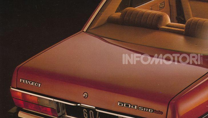 1979: Peugeot presenta la 604 D turbo, la prima turbodiesel venduta in Europa - Foto 1 di 4