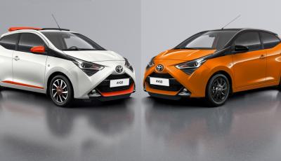 Toyota Aygo aggiorna gli allestimenti x-style e x-cite