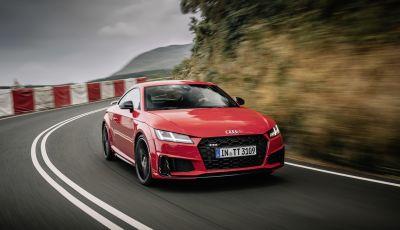 Nuova Audi TTS: ancora più sportiva