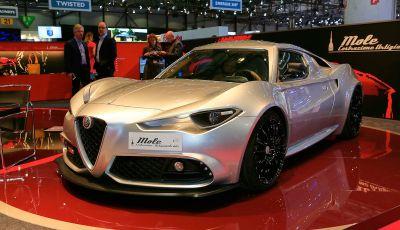 Alfa Romeo 4C Mole Costruzione Artigianale 001, la one-off di Up Design
