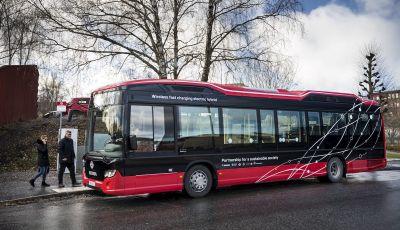 Scania, al via i test di autobus elettrici a guida autonoma