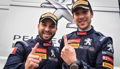 Ciuffi (Peugeot 208 R2B ufficiale) molto contento della vittoria a Sanremo