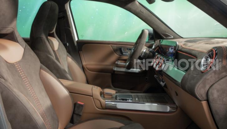 Mercedes Concept GLB: debutta il nuovo SUV compatto tedesco - Foto 4 di 18