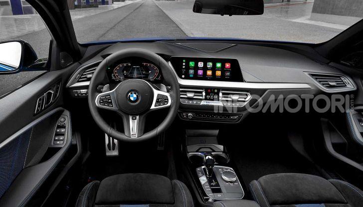 BMW Serie 1 2019: trazione anteriore, design rivisitato - Foto 9 di 17