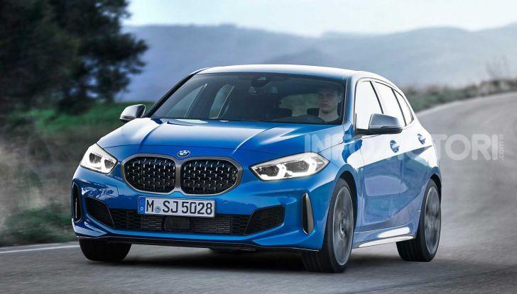 BMW Serie 1 2019: trazione anteriore, design rivisitato - Foto 14 di 17