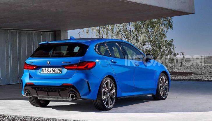 BMW Serie 1 2019: trazione anteriore, design rivisitato - Foto 17 di 17