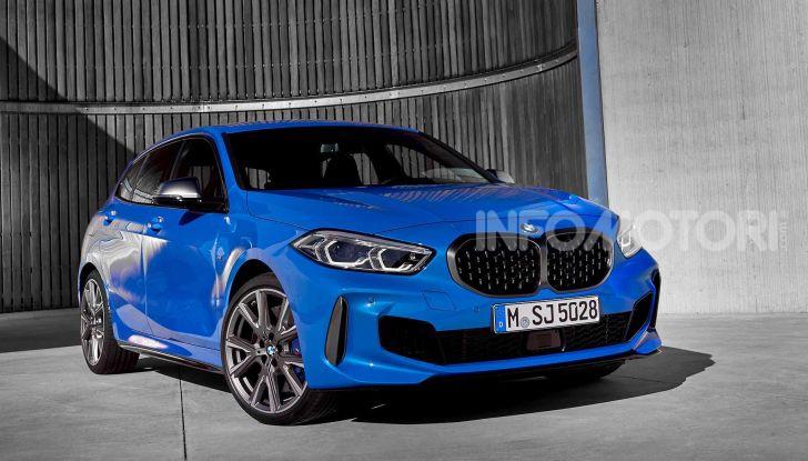BMW Serie 1 2019: trazione anteriore, design rivisitato - Foto 3 di 17