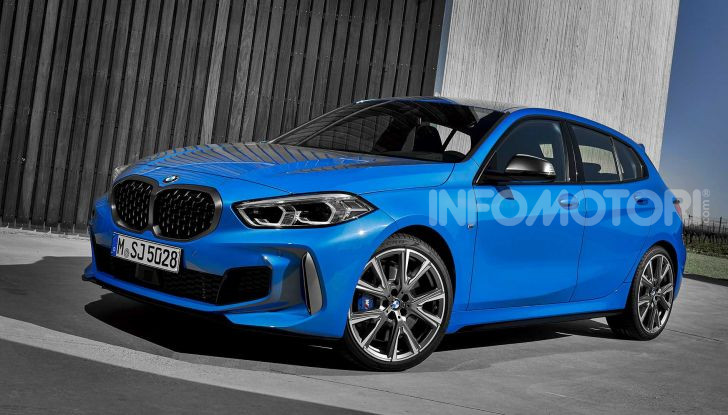 BMW Serie 1 2019: trazione anteriore, design rivisitato - Foto 5 di 17